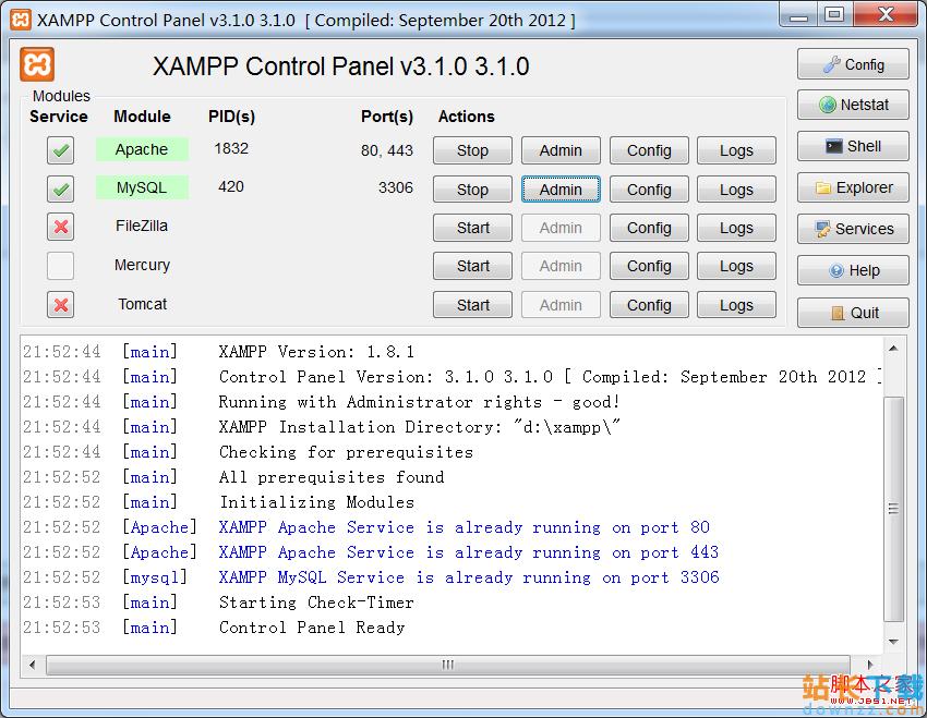 windows系统中用XAMPP<em style='color:red;'>安装</em>wordpress及配置图文教程