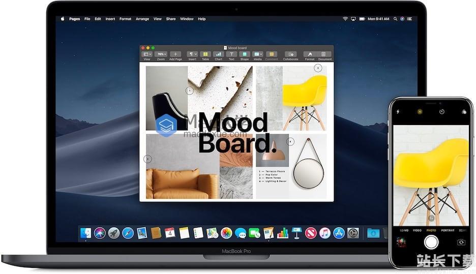 macOS Mojave 10.14 新功能教程:在 Mac 上使用iPhone相机拍摄照片