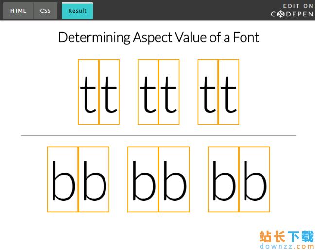 <em style='color:red;'>详解</em>使用CSS的font-size-adjust属性改善网页排版