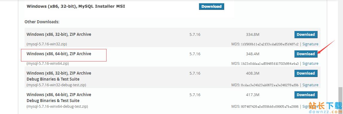 MySQL (win7x645.7.16版本)下载、<em style='color:red;'>安装</em>、配置与使用的详细图文教程