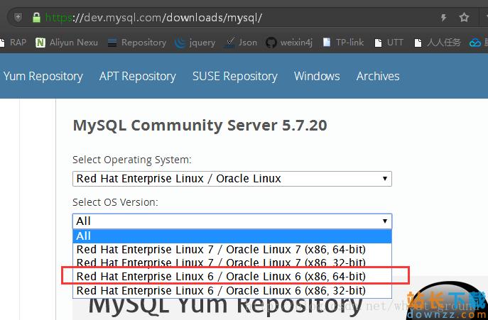 RedHat6.5/CentOS6.5安装Mysql5.7.20的教程<em style='color:red;'>详解</em>
