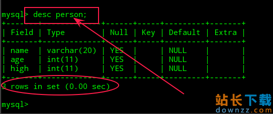 Mysql使用简单<em style='color:red;'>教程</em>(二)