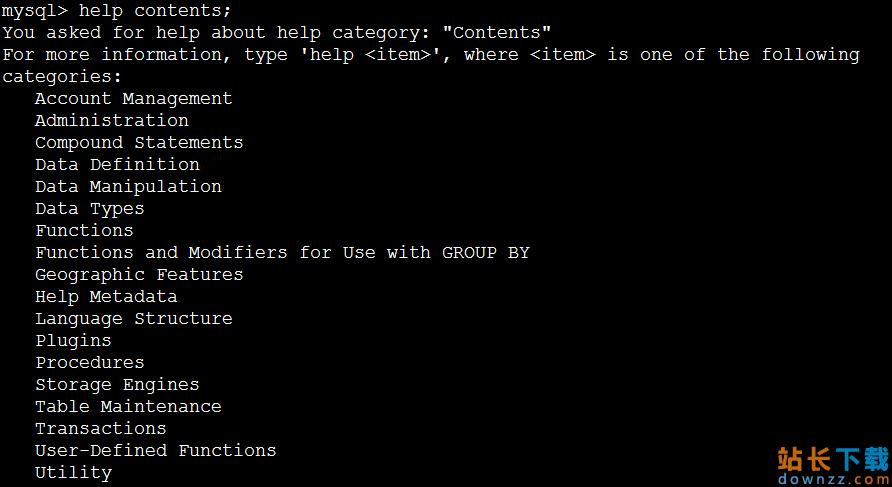 将MySQL helpcontents的内容有层次的输出办法 推荐