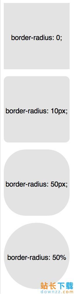 CSS3中border-radius属性设定圆角的使用技巧