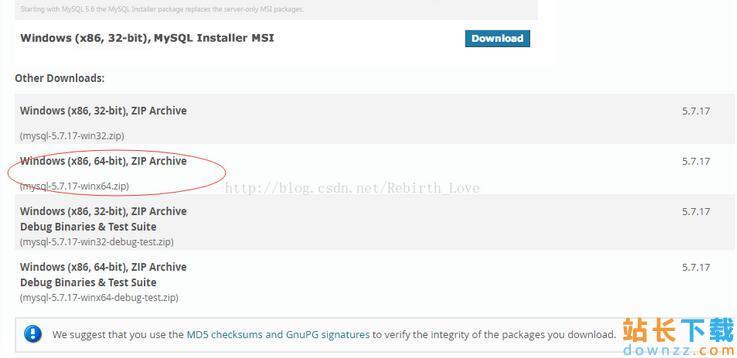 mysql5.7.17winx64<em style='color:red;'>安装</em>配置图文教程