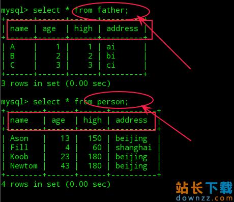 Mysql使用简单<em style='color:red;'>教程</em>(三)