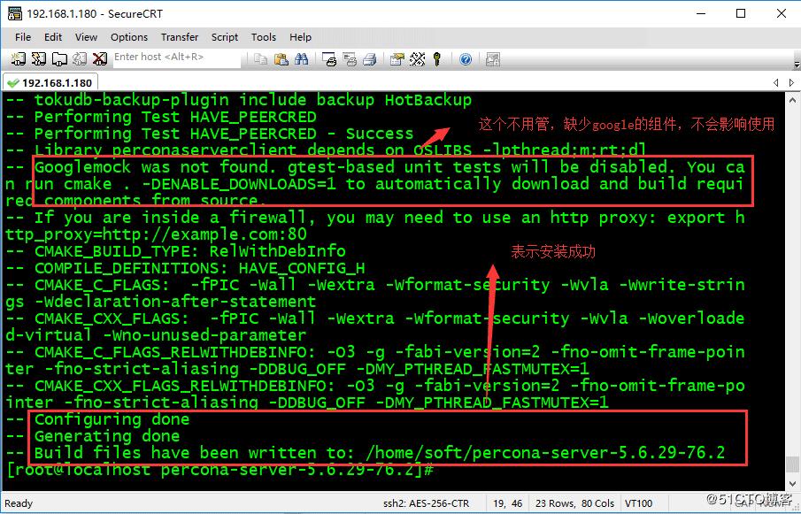 CentOS7<em style='color:red;'>安装</em>PerconaServer+Mysql
