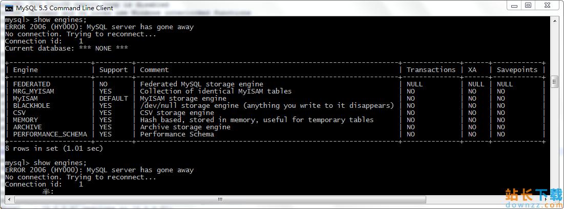 mysql执行sql文件报错Error:Unknownstorageengine'InnoDB'的解决办法