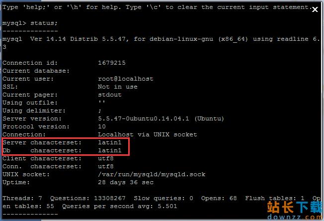 Mysql下中文乱码的问题解决办法 总结