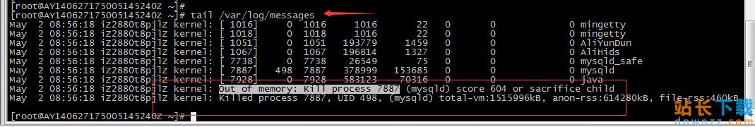 MySQL 服务自动停止的解决办法