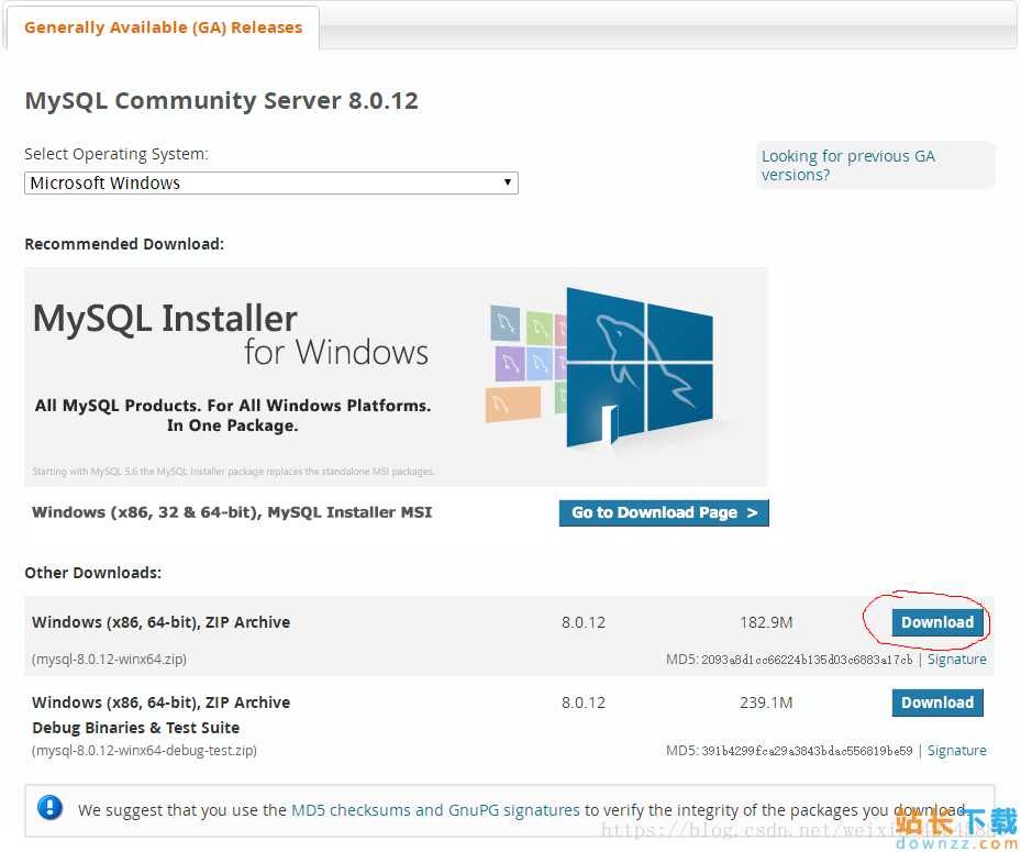 mysql8.0.12<em style='color:red;'>安装</em>配置办法 图文教程(windows10)