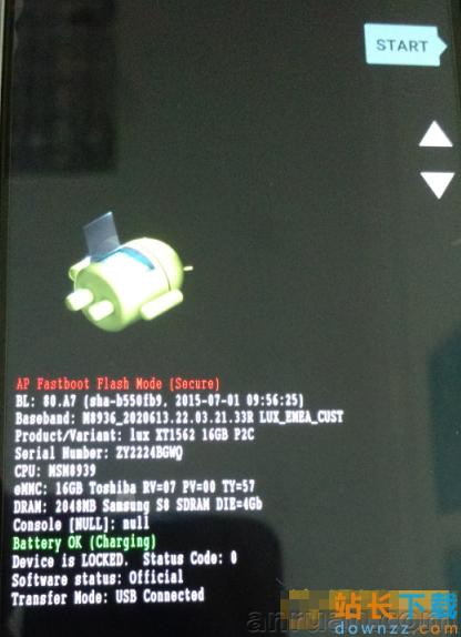 Moto X Play手动解锁Bootloader图文<em style='color:red;'>教程</em>