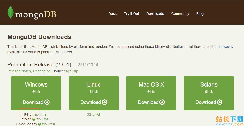mongoDB在windows下<em style='color:red;'>安装</em>与配置方案