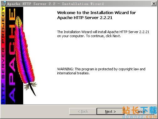 Apache 2.2.16<em style='color:red;'>安装</em>图解
