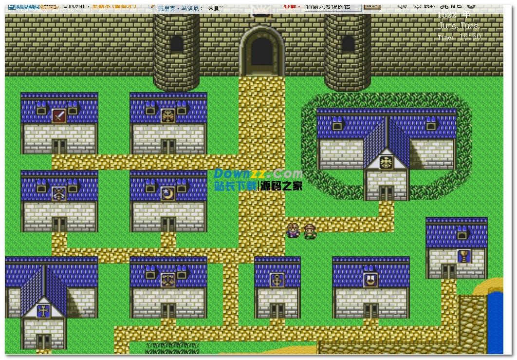 大航海时代网页版游戏交互系统 v1.0