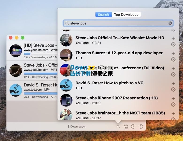 Downie 3 for Mac 3.3.7 破解版 - 好用的在线视频下载工具