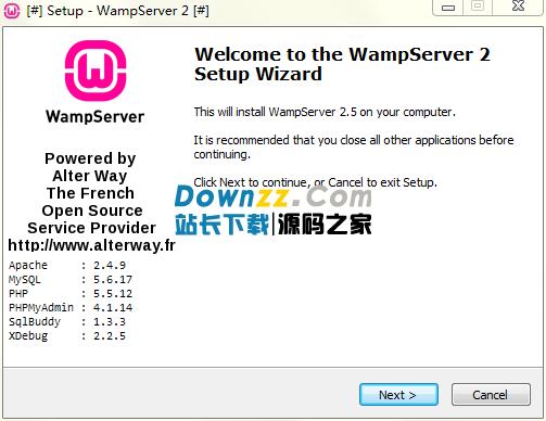WampServer 1.6.1.33开发工具包官方最新版
