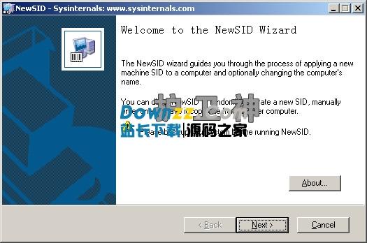 NewSID(更改SID)绿色下载