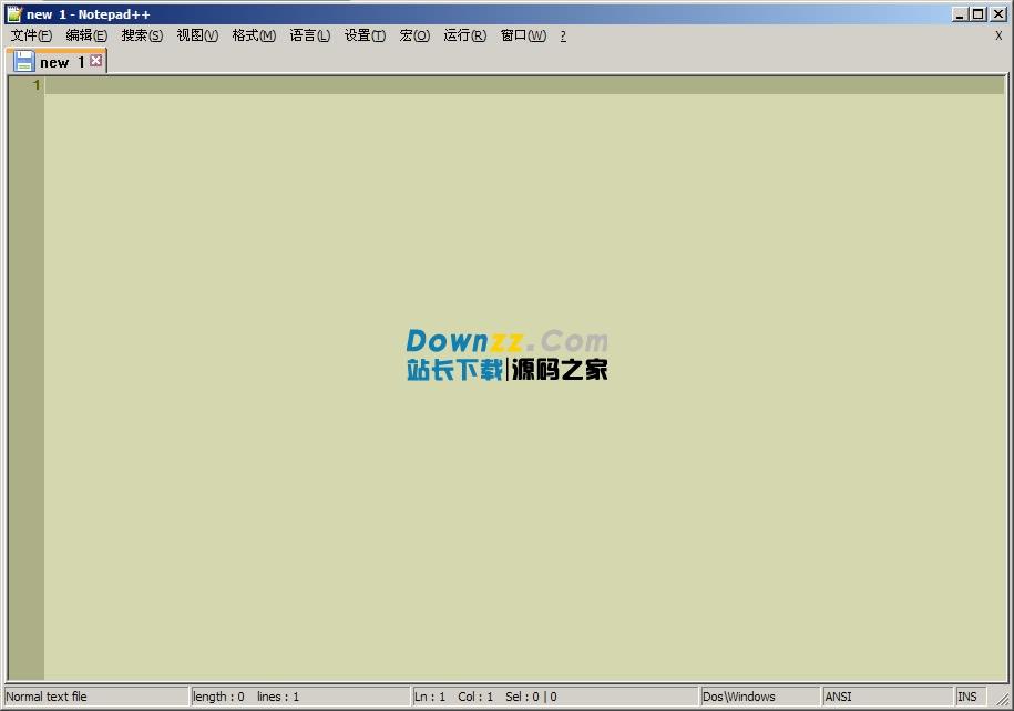 Notepad++文本文件编辑器汉化中文版