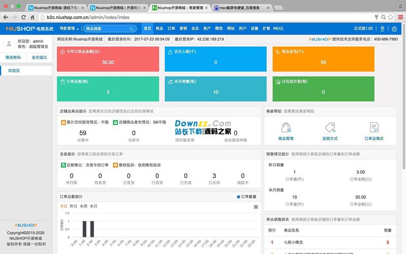 Niushop开源商城系统 v2.1