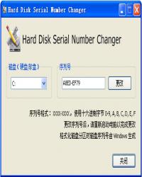 HDSNC硬盘序列号修改软件 Serial Number Changer 汉化版
